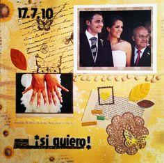 Cuando te casas, es para siempre. http://thescrapbookfactory.wordpress.com/