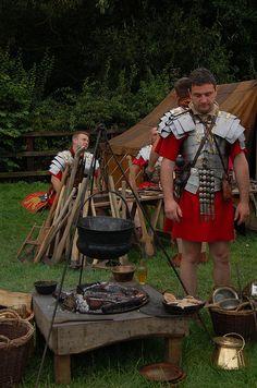 Roman camp.