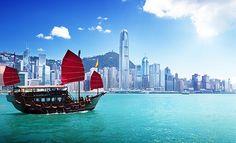Hong Kong Harbour, China