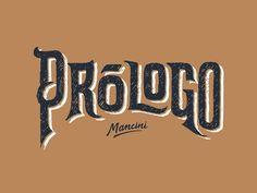 Prologo wine logo by Gustavo Mancini