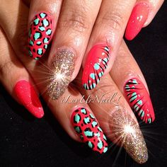 This is cute stiletto nail shape