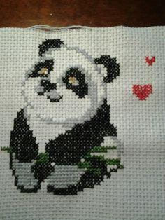 Punto croce  Panda