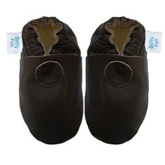 Dotty Fish Soft Leather Baby Shoes with Suede Soles. Chocolate Brown Plain design Dotty Fish,     http://amzn.to/11UVyjm
