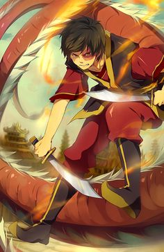 ZUKO \(@o@)/ by nuriko-kun. It took me forever to find those little symbols on my keyboard. But this bit'o'art is FLY.