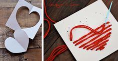 DIY: Yarn Heart Garland