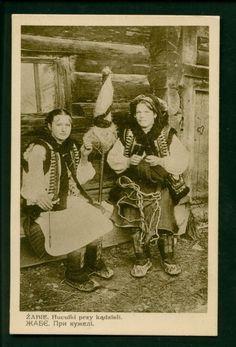 """1920і роки, фото  військового фотографа Миколи Сеньковського. Знімок ввійшов до збірки """"Гуцульські типи"""""""