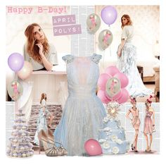 """Happy Birthday April Polys ♥"" by bklana ❤ liked on Polyvore featuring Valentino"