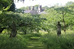 Gresgarth Hall, Lancaster, the garden designer Arabella Lennox-Boyd's own garden.