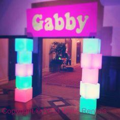 LED illuminated furniture