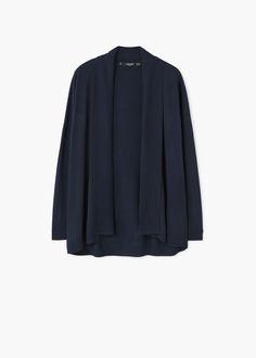 Flowy cardigan | MANGO
