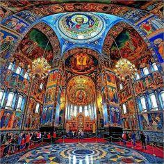 Church in Saint-Petersburg, Russia.