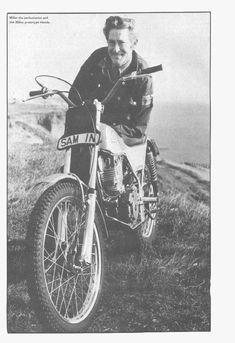 1974 Sammy Miller, Belfast, UK. Honda 250 Prototype, XL250 Engine based.