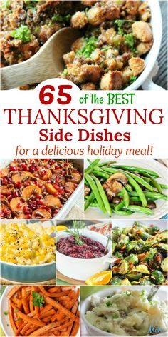 65 Best Thanksgiving Side Dishes for a Delicious Holiday Meal >>> ! BEST RECIPES :) 65 Best Thanksgiving Side Dishes for a Delicious Holiday Meal Best Thanksgiving Side Dishes, Thanksgiving Dinner Recipes, Holiday Recipes, Traditional Thanksgiving Food, Holiday Meals, Thanksgiving Turkey, Christmas Desserts, Holiday Parties, Holiday Fun