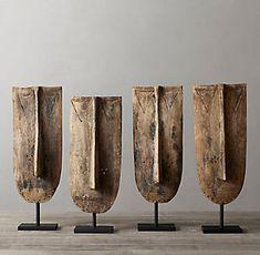 Concrete Sculpture, Sculpture Art, Metal Art, Wood Art, Decorative Objects, Decorative Accents, Art Premier, Modern Shop, Tree Wall Art