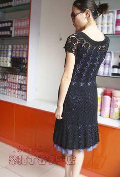 crochet charming dress for girl   make handmade, crochet, craft
