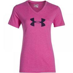 Dámské růžové tričko Under Armour Tri-Blend