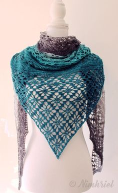 Maestrale is a triangular shawl with an airy lace pattern and a little hint of texture. It is perfect for summer, to wear on a plain dress or even to be used as a pareo on the beach!This pattern was designed with Scheepjes Whirl, but you are free to use your favorite yarn, of course. I would recommend using fingering weight yarn. Using a different weight could or will require adjustments that I cannot provide in this pattern. Feel free to mix and match your favorite colors and your favorite…