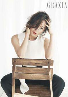 2014.03, GRAZIA, No. 25, Kim Hee Ae Grazia Magazine, Lee Young, Eternal Sunshine, Arts Award, Korean Actresses, Korean Celebrities, Asian Woman, Korean Wave, Korean Fashion
