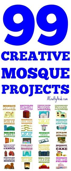 Over the years, I have crafted many mosque crafts on A Crafty Arab. I have collected, along with others, so you can enjoy these mosque projects with kids. Projects For Kids, Art Projects, Crafts For Kids, Religion Activities, Muslim Culture, Ramadan Crafts, World Religions, Mosques, Muslim Women