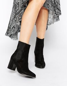 Image 1 ofASOS RANDALL Leather Chelsea Ankle Boots