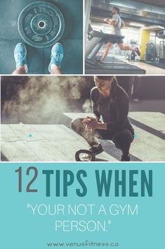 """12 Tips when """"You're """"Not a Gym Person"""" - Venus Fitness and Lifestyle Physical Activity Guidelines, Physical Activities, Interval Running, Heavy Weight Lifting, Breath In Breath Out, Health Goals, At Home Gym, Workout Ideas, Going To The Gym"""