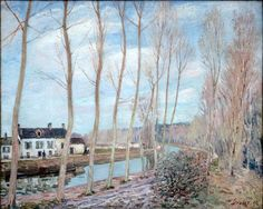 River Loing - Alfred Sisley, 1892  WikiPaintings.org - the encyclopedia of painting
