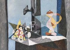 Пабло Пикассо. Натюрморт 3. 1941 год