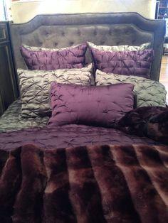 Z Gallerie bedroom bedding