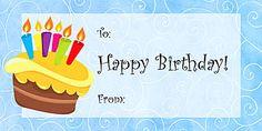 It is an image of Gargantuan Happy Birthday Tag Printable