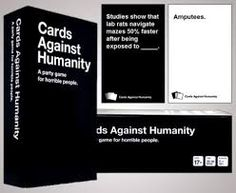 Cards Against Humanity is the best game to play with a group of friends...provided your friends have great (or terrible) sense of humor and/or drink in excess. It's an ice breaker, party game, and recipe for a good time.