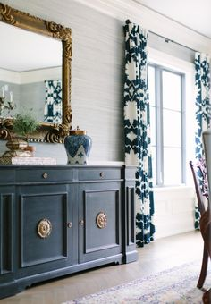 kate-marker- schumacher-draperies-window-treatments-Elegant-dining-room