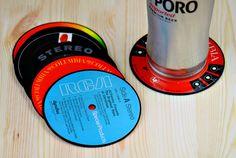 Record Label Coasters