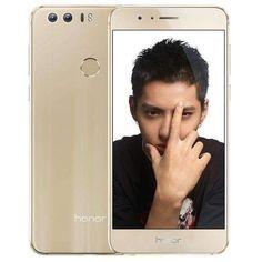 Gold Huawei Honor 8 Frd-al10 4gb+64gb Offical Global Rom Dual Rear Cameras Fingerprint Identificatio