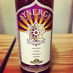 Synergy Kombucha - Grape Chia For a healthy gut! High in probiotics & antioxidants! Kombucha Brands, Clean Eating, Eating Healthy, Healthy Food, Health And Wellness, Health Fitness, Mind Body Soul, Health Motivation