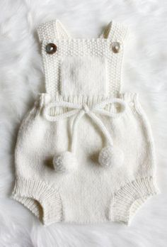 Diy Crafts - Knitted Baby Clothes with Colorful Varieties knitted baby clothes hand knitted baby romper Baby Knitting Patterns, Baby Clothes Patterns, Baby Patterns, Babies Clothes, Babies Stuff, Free Knitting, Dress Patterns, Knit Baby Dress, Crochet Baby Dresses