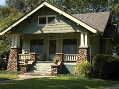 Craftsman and Bungalow Style Homes