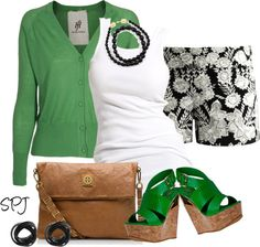 """""""The Grass is Always Greener..."""" by s-p-j ❤ liked on Polyvore"""