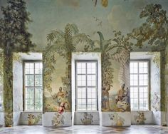 Johann Wenzel Bergl   Melk monastery - Bergl room, Melk, A    Photo Margherita Spiluttini, © Architekturzentrum Wien