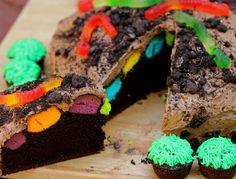 Polka Dot Dirt Cake
