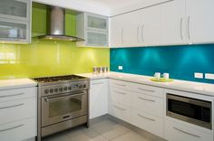 Colourful Kitchen Designs