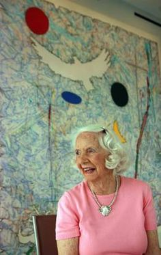 Meet Betty Blake: She's 95. She's feisty. She's the reason you know Picasso. A look insider her Dallas home.