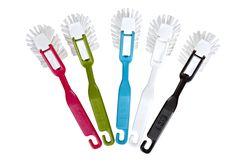 Erivärisiä vaihtopää tiskiharjoja :) Toothbrush Holder
