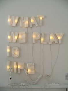 what we play is life