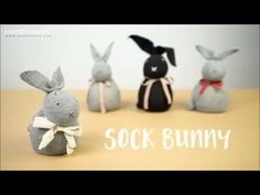 DIY Sock Bunny, My Crafts and DIY Projects