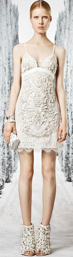The dress. Not the shoes (awful)...Roberto Cavalli Resort 2013♥✤ | Keep the Glamour | BeStayBeautiful
