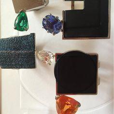 Absence and Presence of colour : les bagues en diamants d'Alexandra Jefford