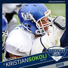 nfl Seattle Seahawks Kristjan Sokoli YOUTH Jerseys