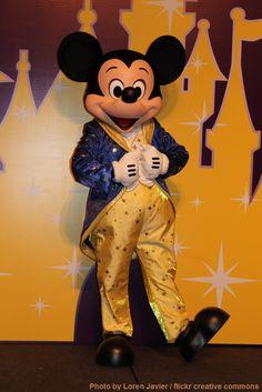 Mickey Mouse at the Finale Dinner at the Disneyland Hotel at Hong Kong Disneyland