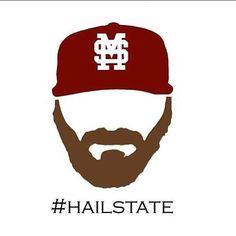 #FearTheBeard #HailState