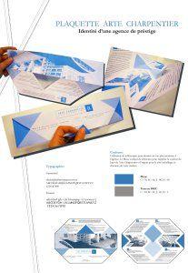 BTS Communication Visuelle :Plaquetted'architecte - Juillet 2010